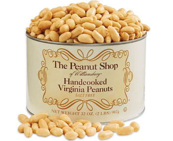 HANDCOOKED SALT FREE VIRGINIA PEANUTS