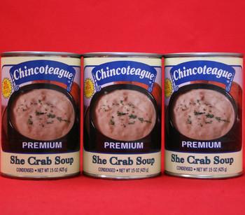 CHINCOTEAGUE SHE CRAB SOUP