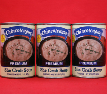 CHINCOTEAGUE SHE CRAB SOUP