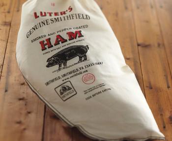 LUTER'S WHOLE UNCOOKED GENUINE SMITHFIELD HAM