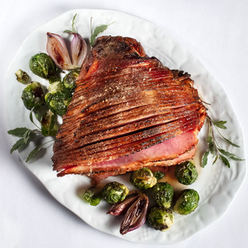 Smithfield - Crunchy Glaze Spiral Sliced Half Ham - Price Includes Shipping