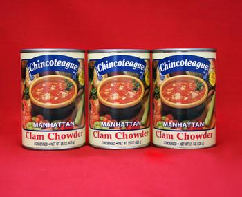 CHINCOTEAGUE MANHATTAN CLAM CHOWDER