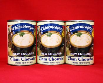 CHINCOTEAGUE NEW ENGLAND CLAM CHOWDER