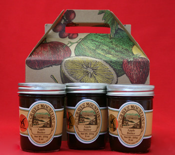 GRAVES MOUNTAIN APPLE BUTTER GIFT BOX