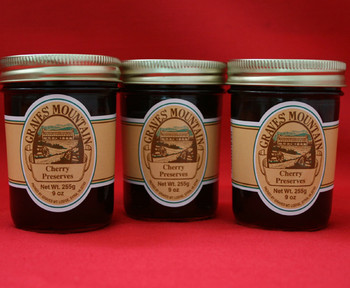 GRAVES MOUNTAIN CHERRY PRESERVES
