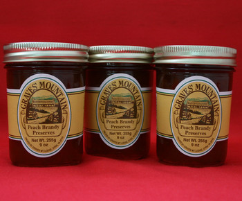 GRAVES MOUNTAIN PEACH BRANDY PRESERVES