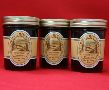 GRAVES MOUNTAIN STRAWBERRY PRESERVES