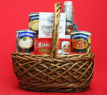 OCEAN BOUNTY! FOR THE CHOWDER LOVER WITH STING RAY BLOODY MARY MIXER