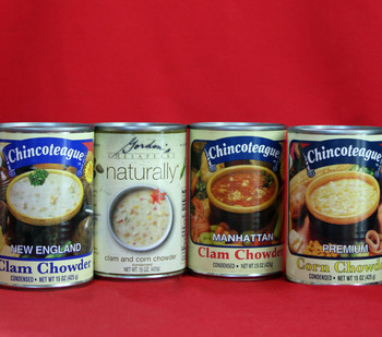 CHINCOTEAGUE CHOWDER SAMPLER