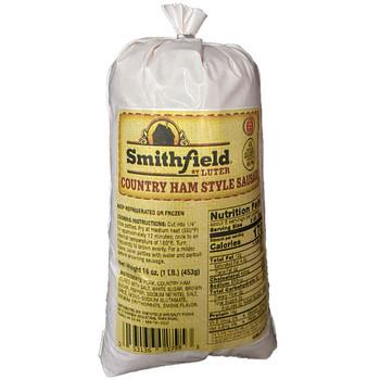 Smithfield - Smithfield Country Ham Sausage - Price Includes Shipping