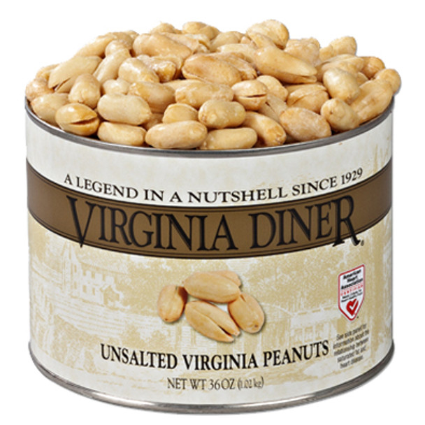 Virginia Diner Gourmet Unsalted Gourmet Virginia Peanuts