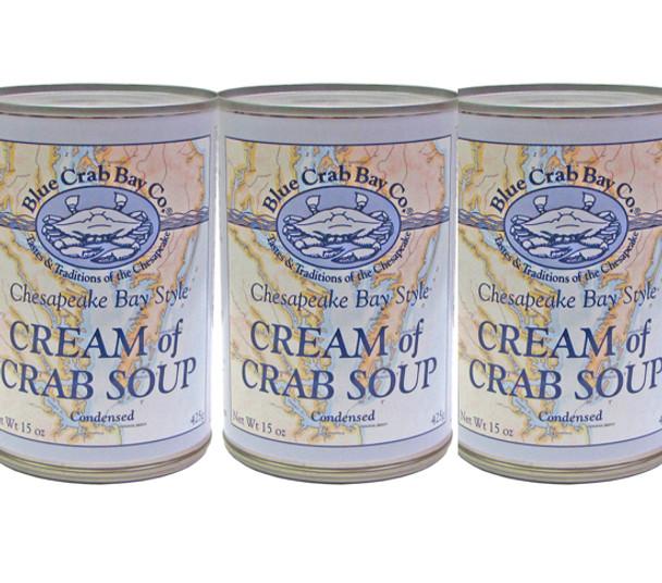 BLUE CRAB BAY CREAM OF CRAB SOUP