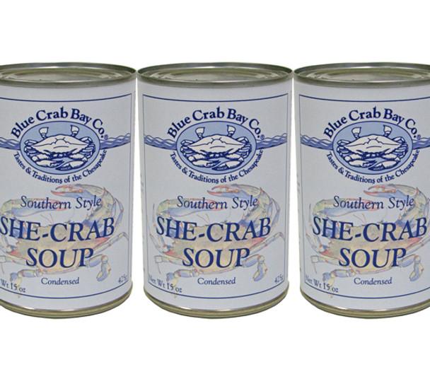 BLUE CRAB BAY SHE-CRAB SOUP