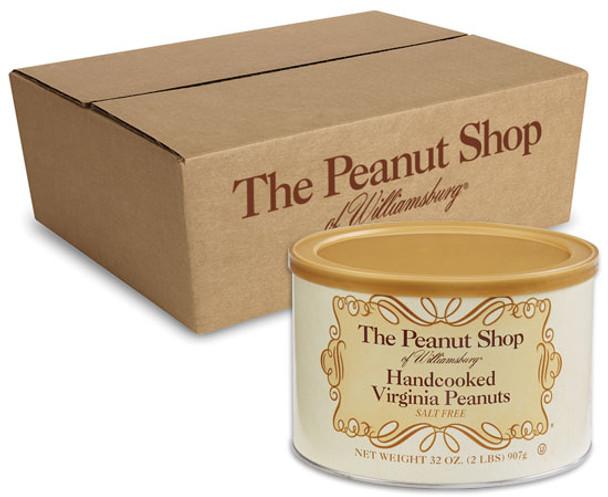 The Peanut Shop of Williamsburg - Handcooked Salt Free Virginia Peanuts