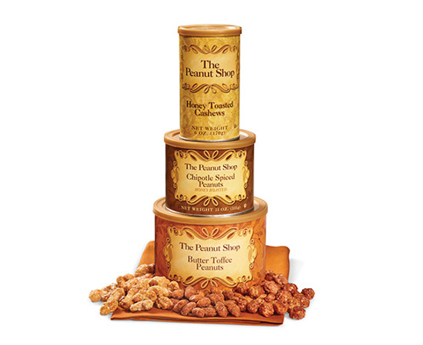 The Peanut Shop of Williamsburg - Sweet Treats Tower - Price Includes Shipping