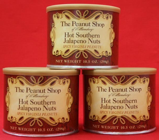HOT SOUTHERN JALAPENO NUTS