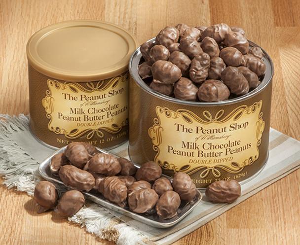 MILK CHOCOLATE PEANUT BUTTER PEANUTS