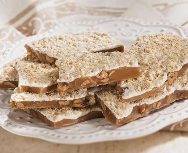 THE PEANUT OF WILLIAMSBURG WHITE CHOCOLATE CASHEW TOFFEE