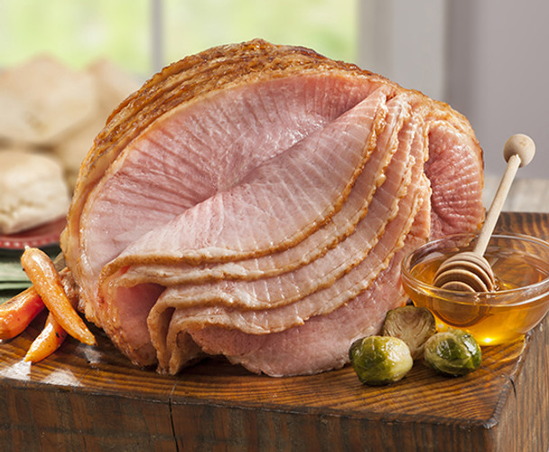 SMITHFIELD MARKETPLACE DOUBLE HONEY GLAZED SLICED HALF HAM
