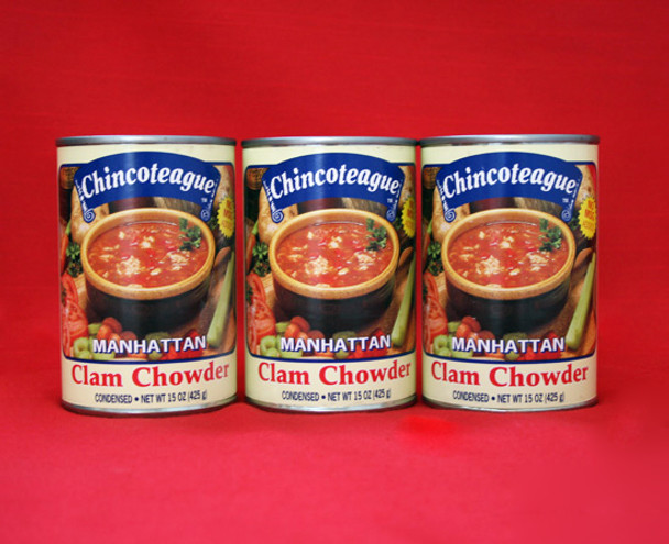 CHINCOTEAGUE MANHATTAN CLAM CHOWDER