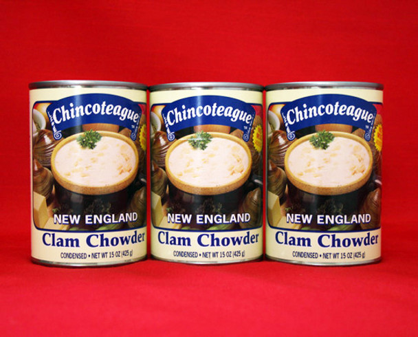 CHINCOTEAGUE NEW ENGLAND CLAM CHOWDER