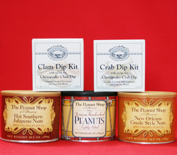 PEANUTS AND SEAFOOD DIPS GIFT BOX