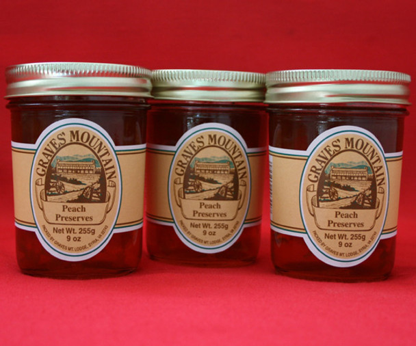 GRAVES MOUNTAIN PEACH PRESERVES