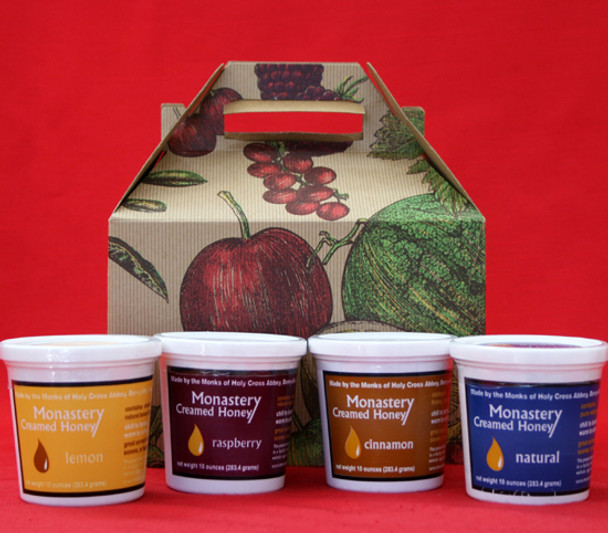 Monastery Creamed Honey Gift Box