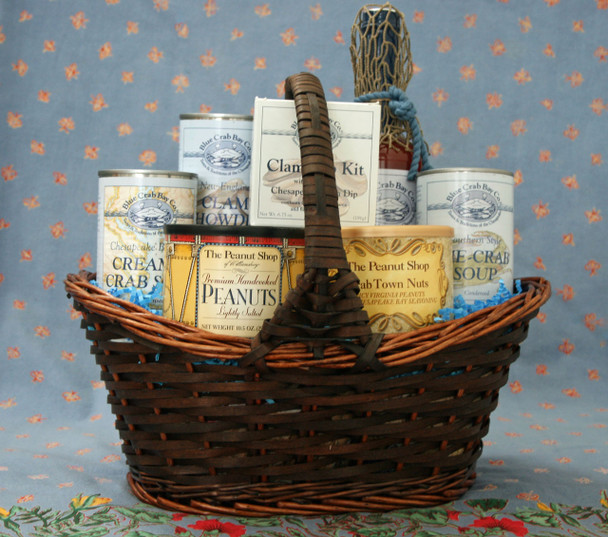 OCEAN BOUNTY! FOR THE BLUE CRAB BAY SOUP LOVER WITH BLUE CRAB BAY STING RAY BLOODY MARY MIXER