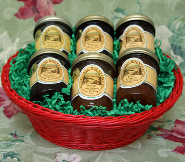FRUIT LOVER'S PRESERVE BASKET