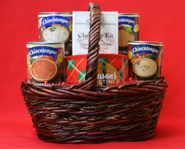 OCEAN BOUNTY! WITH CHINCOTEAGUE GOURMET SOUPS!!