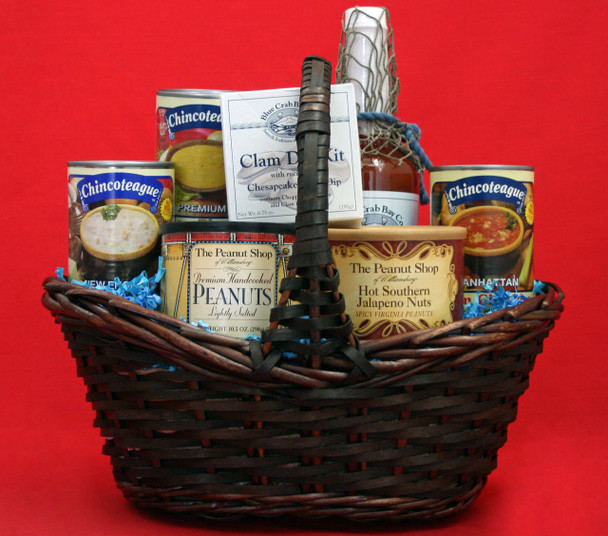 Ocean Bounty! For the Clam Lover With Blue Crab Bay Sting Ray Bloody Mary Mixer!