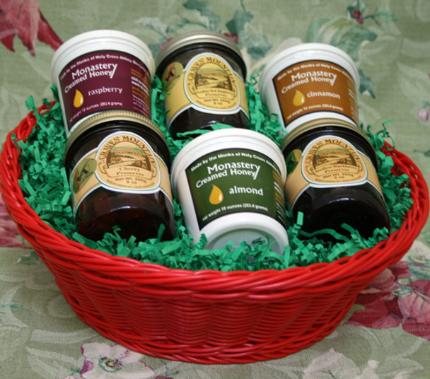 PRESERVE AND HONEY LOVER'S BASKET