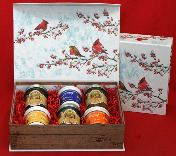 HONEY AND PRESERVE LOVER'S BOX