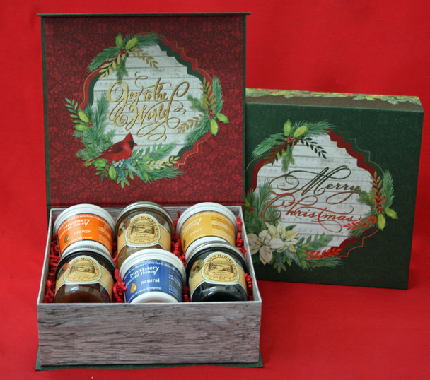 HONEY AND PRESERVE LOVER'S HOLIDAY BOX
