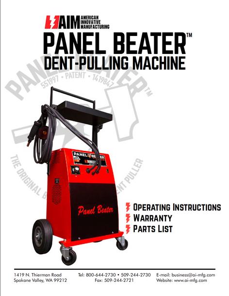Panel Beater Operation Manual- (Hard Copy)