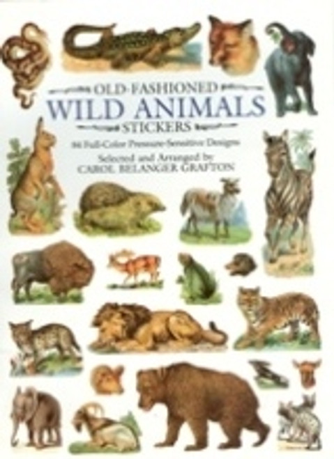 Wild Animals Stickers (book)