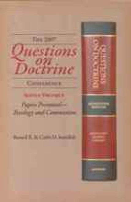 (E-Book) Conference, 2007:  Papers Presented - Theology and Communion.