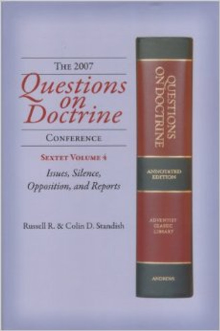 This volume of the Questions on Doctrine Sextet explores in further depth the reason why there was so little public opposition to Questions on Doctrine though it taught doctrines alien to those believed by earlier Seventh-day Adventists and also by the overwhelmingly number of leaders in the 1950s. Clearly there were multiple reasons, which are explored in this volume. Yet, the sacred integrity of the precious truths which God had entrusted to the Seventh-day Adventist people were at stake. Momentous issues were in jeopardy. The integrity of God s sacred end-time truths were in the balance. Truth essential to the preparation for God s people to be ready to receive the seal of the living God and the latter rain to complete the gospel commission were dangerously compromised. When opposition was raised, determined measures were undertaken by key leaders which, it would seem, intimated many would-be critics of Questions on Doctrine. How tragic! The results are the worst apostasy in the history of the Seventh-day Adventist Church. In the following fifty years that apostasy has deepened. We pray that this volume and the others in this sextet will have apart in fulfilling this call: It is thought by some to be a misfortune when erroneous theories are advanced, but the Lord has said, All things work together for the good to them that love God. ...Every time that error is advanced, it will work good to those who sincerely love God; for when the truth is shadowed by error, those whom the Lord has made His sentinels will make the truth sharper and clearer. They will search the Scriptures for evidence of their faith. The advancement of error is the call for God s servants to arouse, and place the truth in bold relief. (The Sign of the Times, January 6, 1898)
