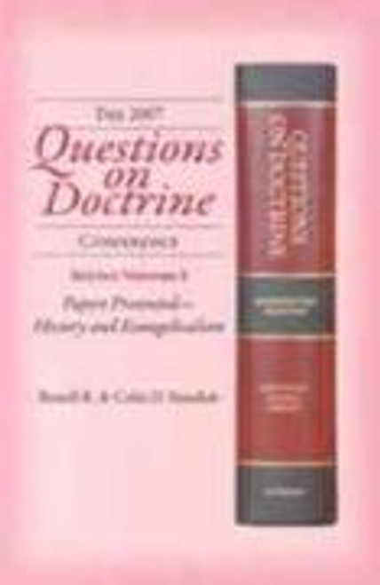 Questions on Doctrine Volume 5:  Papers Presented - History and Evangelicalism by Standish