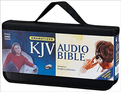 Audio KJV Bible on CD by Stephen Johnston