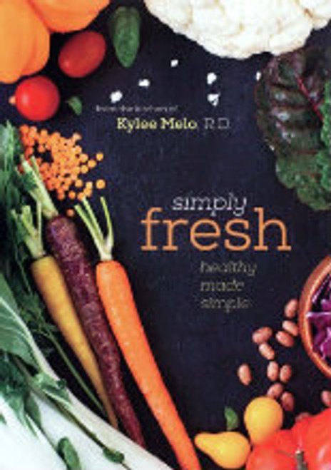 Simply Fresh helps make a healthy lifestyle easier by giving well-rounded recipes, nutrition information, lifestyle advice, and menu plans.  Sections include:      Breakfast     Sides     Salad     Soup     Entrees     Dessert     Basics     Drinks & Juicing
