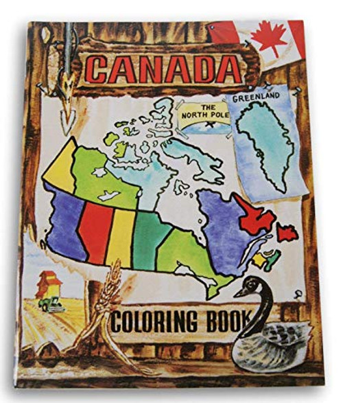 Canada Coloring Book