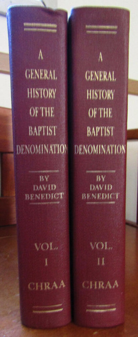 A General History of the Baptist Denomination Set of Vol. 1 & 2