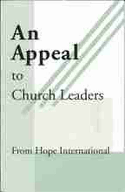 An Appeal to Church Leaders