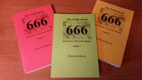 The Truth About 666 Vol. 1-3 Set