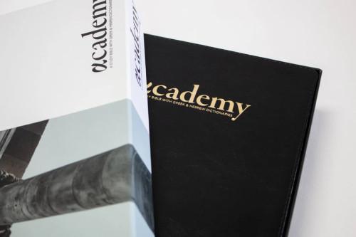 The Academy Study Bible - Black Edition