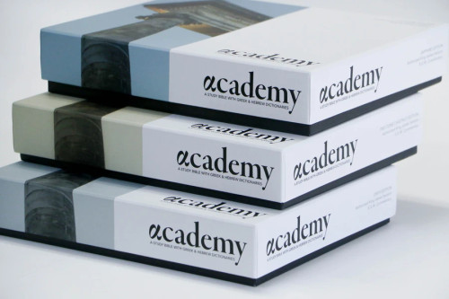 The Academy Study Bible - Sapphire/Silver Edition