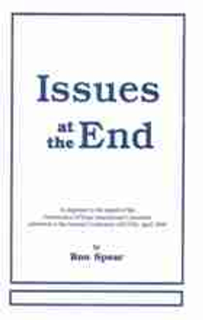 Issues at the End by Ron Spear