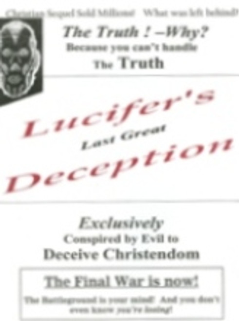 Lucifer's Last Great Deception